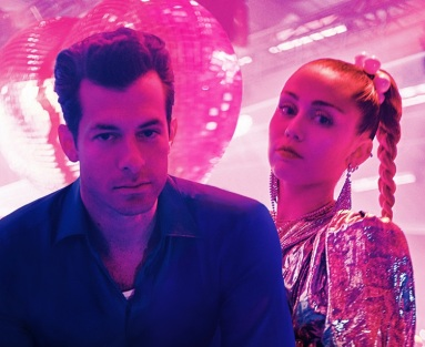 Mark Ronson and Miley Cyrus